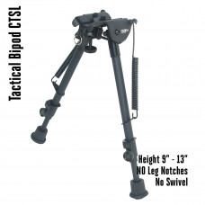Tactical Foldable Bipod Adjustable in Height 9 – 13 inch | CTSL