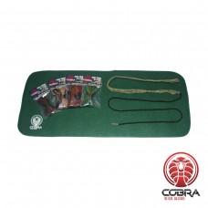 SET: Bore Snake & wapen poetsmat voor kogelgeweren   PROMOTIE