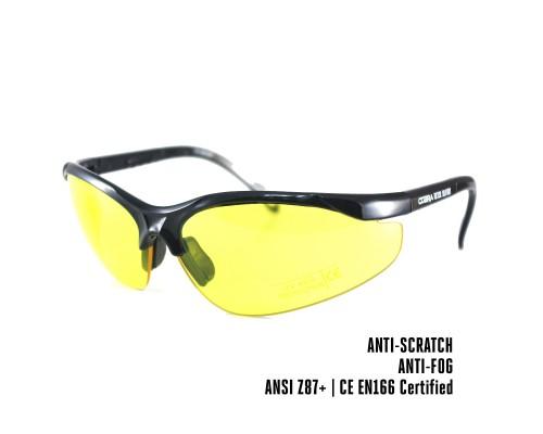 Dampvrije en krasbestendige schietbril | Veiligheidsbril voor op het werk, Skims of tijdens het schieten