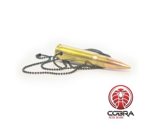 Halsketting 7,62x39mm van echt afgevuurde munitie
