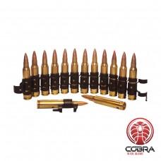 M249 5.56 munitieband (met geneutraliseerde patronen) | 12 stuks | M27 schakels | Tracer Round