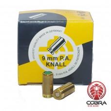 SK Munitie 9mm Knal 50 patronen