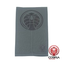 Bandana Cobra grijs voorzien van PM2.5 Filter + 5 PM2.5 Filters | Stretch | 140gsm anti-UV Polyester | 25 x 50cm