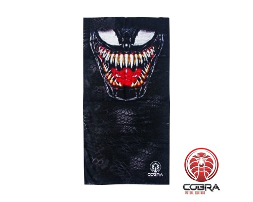 Bandana Venom | Stretch | 140gsm anti-UV Polyester | 25 x 50cm