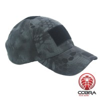 VICTOR CAP | 3 Velcro Patches | Zwarte Python Camo | One size fits all