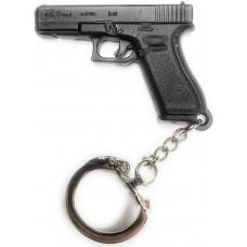 Glock Pistol Key Chain Black Polymer