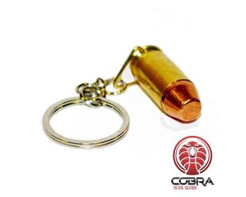 Sleutelhanger .45ACP van echt afgevuurde munitie