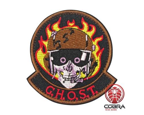 Ghost geborduurde patch | Klittenband | Military Airsoft