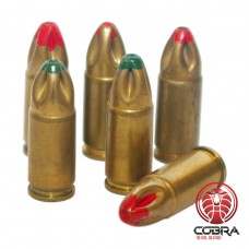 FN 9mm (9x19mm) Crimped Blank Ammunition cartridge