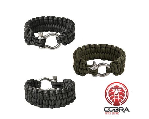 """Paracord Quick Unravel bracelet """"Loops"""""""