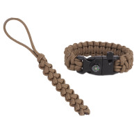 "Paracord Fire-starting tool ""Flaming Lizzard"", Coyote brown"