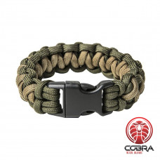 "Paracord Armband ""Solomon"", Army green"