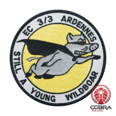 Still a Young Wildboard EC 3 3 Ardennes geborduurde patch   Strijkpatches   Military Airsoft