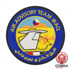 Air Advisory Team Iraq Geborduurde militaire Patch met klittenband