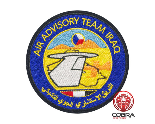 Air Advisory Team Iraq Geborduurde militaire Patch met klittenband