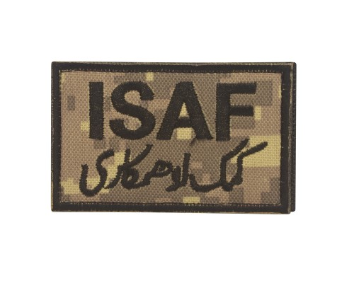 Militaire patch ISAF Patch digital camo met klittenband