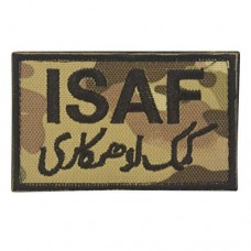 Militaire patch ISAF Patch camo met klittenband
