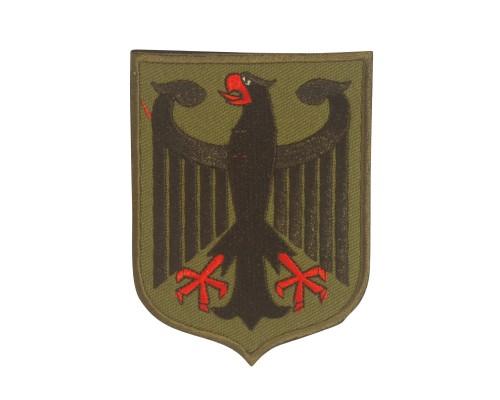 Duitse Flag met adelaar Geborduurde  patch met klittenband