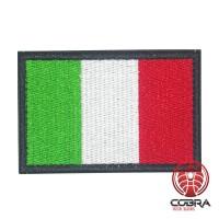 Italië Italiaanse vlag geborduurde militaire patch met klittenband