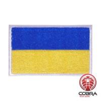 Vlag Oekraïne geborduurde patch| Velcro| Military Airsoft
