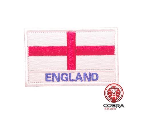 Vlag England Geborduurde militaire Patch met klittenband