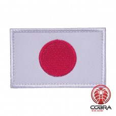 Vlag Japan geborduurde patch | Velcro | Military Airsoft