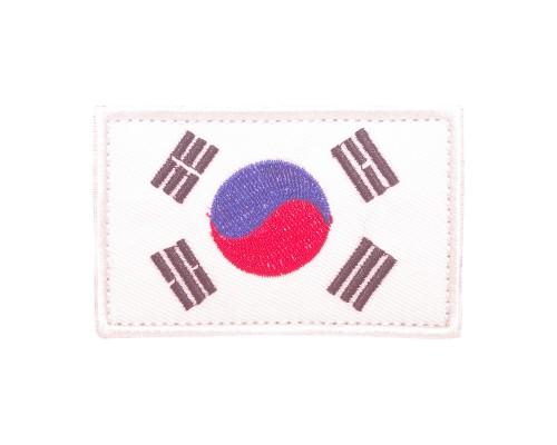 Vlag Zuid Korea Geborduurde militaire Patch met klittenband