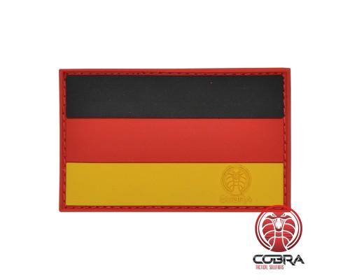 Duitse vlag Duitsland PVC Patch met klittenband