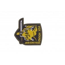 Militaire patch Foxhound met klittenband