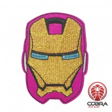 Iron Man Avenger paars geborduurde movie patch | Strijkpatches | Military Airsoft