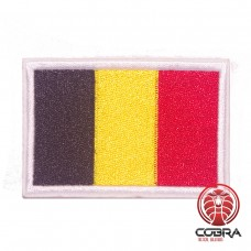 Vlag België geborduurde patch | Strijkpatches | Military Airsoft