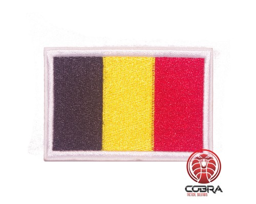 Vlag België geborduurde patch | Strijkpatches | Military Airsoft