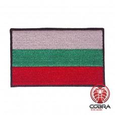 Vlag Bulgarije geborduurde patch | Strijkpatches | Military Airsoft