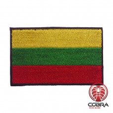 Vlag Lithuania  geborduurde patch | Strijkpatches | Military Airsoft