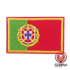 Vlag Portugal geborduurde patch | Strijkpatches | Military Airsoft
