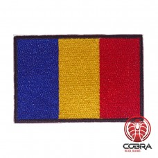 Vlag Romania  geborduurde patch | Strijkpatches | Military Airsoft