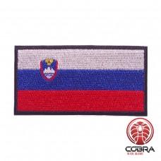 Vlag Slovenia  geborduurde patch   Strijkpatches   Military Airsoft