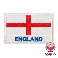 Vlag England geborduurde patch | Strijkpatches | Military Airsoft