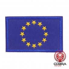 Vlag Europese Unie Europa geborduurde patch | Strijkpatches | Military Airsoft