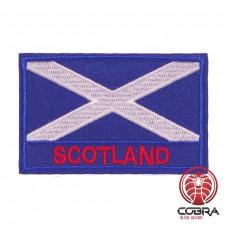Vlag Schotland  geborduurde patch   Strijkpatches   Military Airsoft