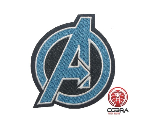 Avengers Agents of Shield blauwe geborduurde cosplay film patch | Strijkpatches | Military Airsoft