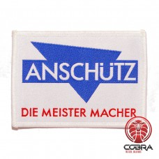 Anschütz Die Meister Macher geborduurde patch | Strijkpatches | Military Airsoft