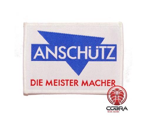 Anschütz Die Meister Macher geborduurde patch | Strijkpatches | Military Airsoft
