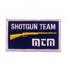 Shotgun team MTM Case Gard geborduurde patch | Strijkpatches | Military Airsoft
