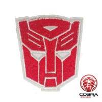 Transformers Autobots Optimus Prime rode geborduurde cosplay film patch | Strijkpatches | Military Airsoft