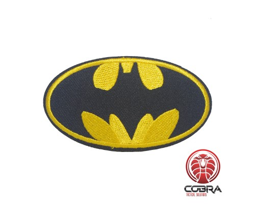 Batman gouden geborduurde cosplay film patch | Strijkpatches | Military Airsoft