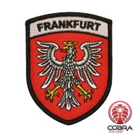 Wapenschild van de stad Frankfurt geborduurde patch | Strijkpatches | Military Airsoft