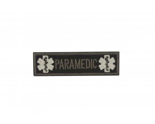Militaire patch Paramedic Cross of Life met velcro