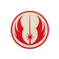 Order of The Jedi Star Wars film PVC Patch met velcro