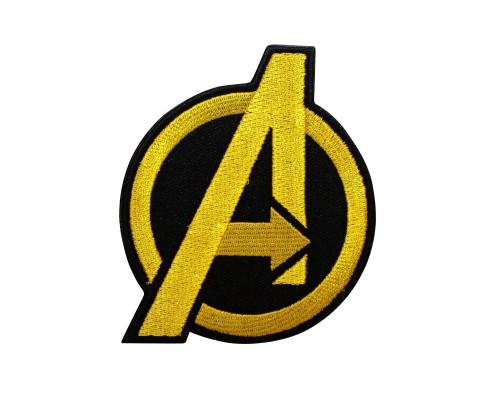 Avengers Agents of Shield Geborduurde gouden patch met klittenband